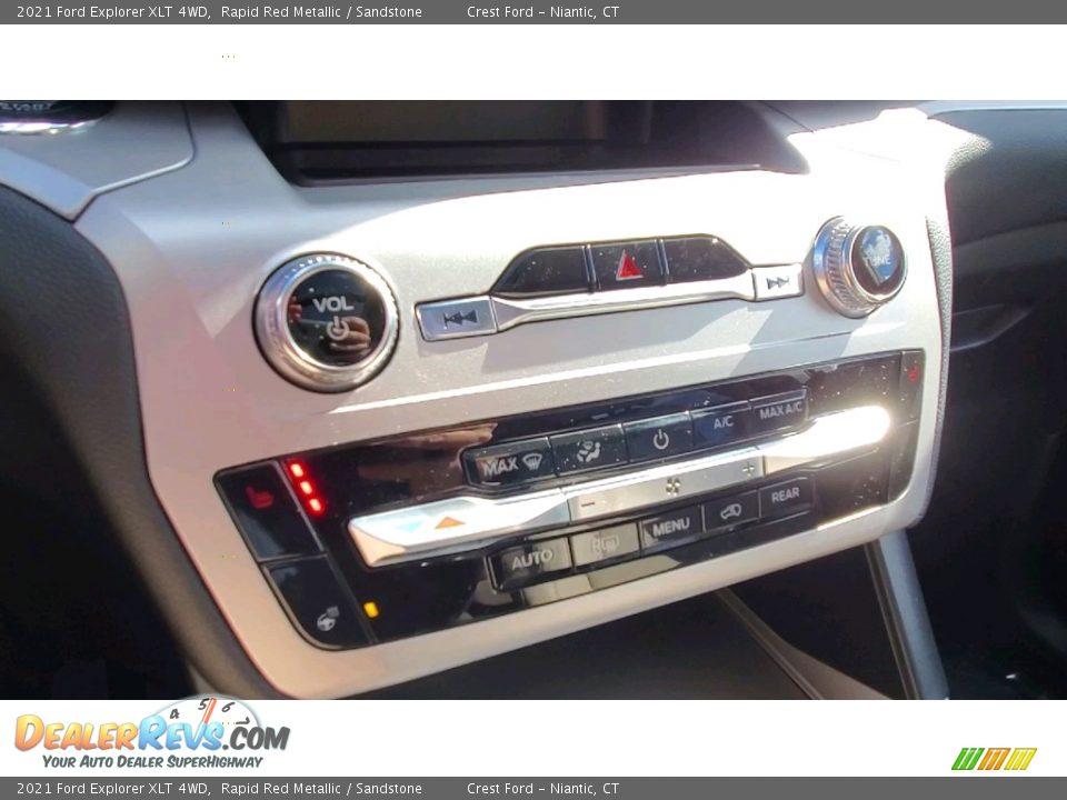 2021 Ford Explorer XLT 4WD Rapid Red Metallic / Sandstone Photo #15