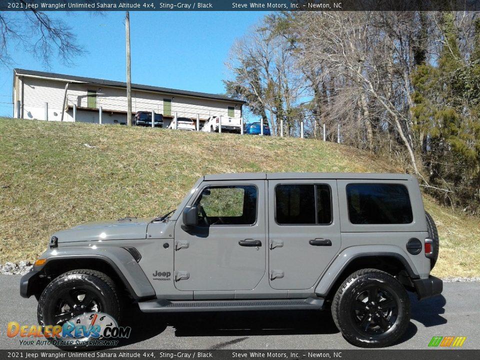 Sting-Gray 2021 Jeep Wrangler Unlimited Sahara Altitude 4x4 Photo #1