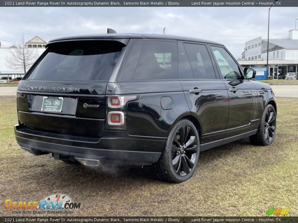2021 Land Rover Range Rover SV Autobiography Dynamic Black Santorini Black Metallic / Ebony Photo #3