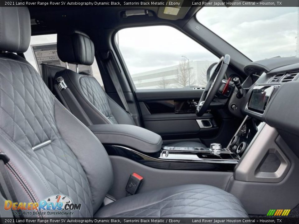 Front Seat of 2021 Land Rover Range Rover SV Autobiography Dynamic Black Photo #4