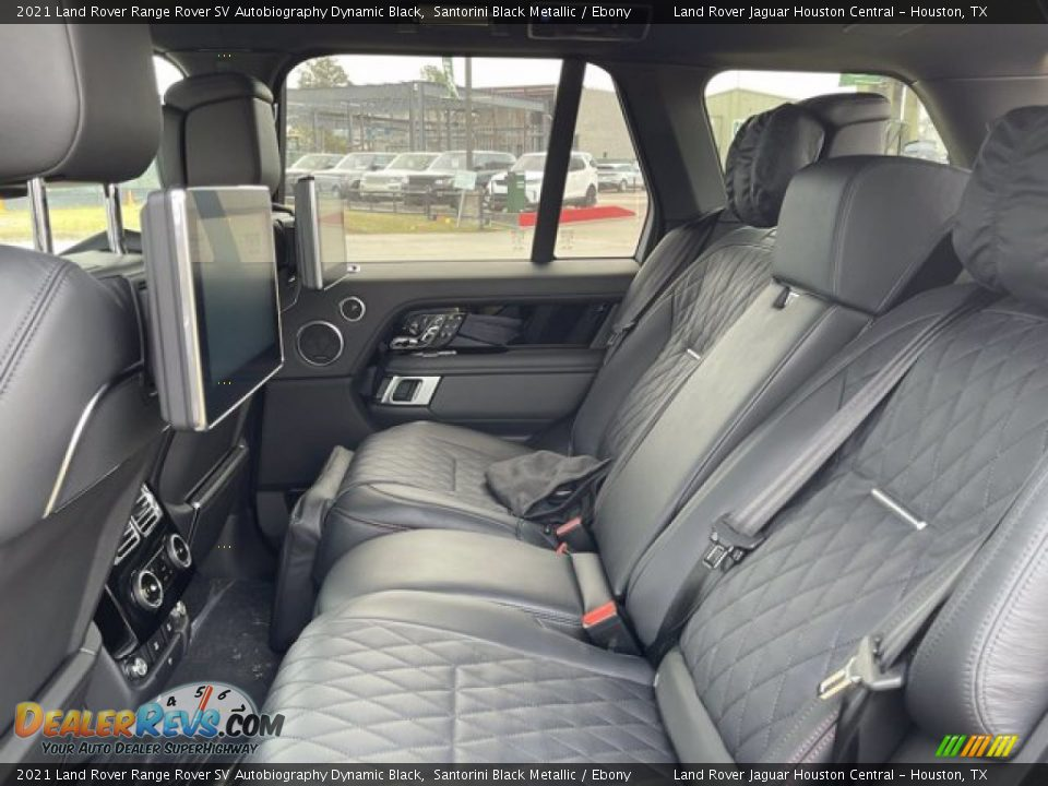 Rear Seat of 2021 Land Rover Range Rover SV Autobiography Dynamic Black Photo #6