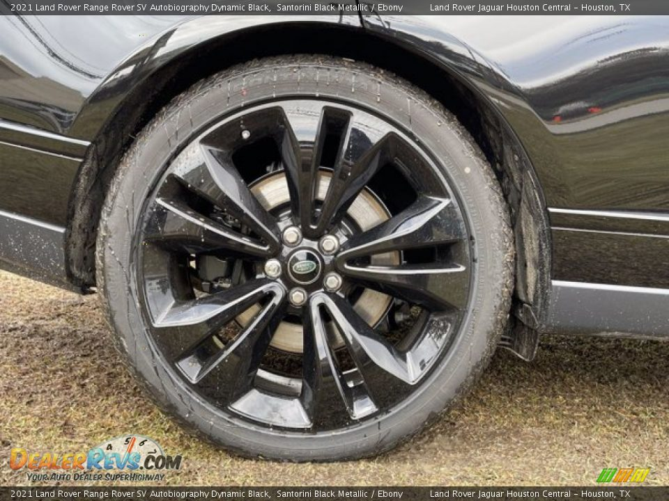 2021 Land Rover Range Rover SV Autobiography Dynamic Black Wheel Photo #11