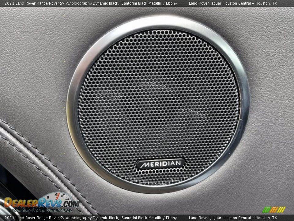 2021 Land Rover Range Rover SV Autobiography Dynamic Black Santorini Black Metallic / Ebony Photo #14