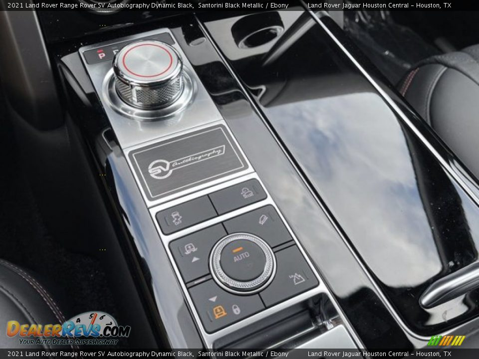 Controls of 2021 Land Rover Range Rover SV Autobiography Dynamic Black Photo #27