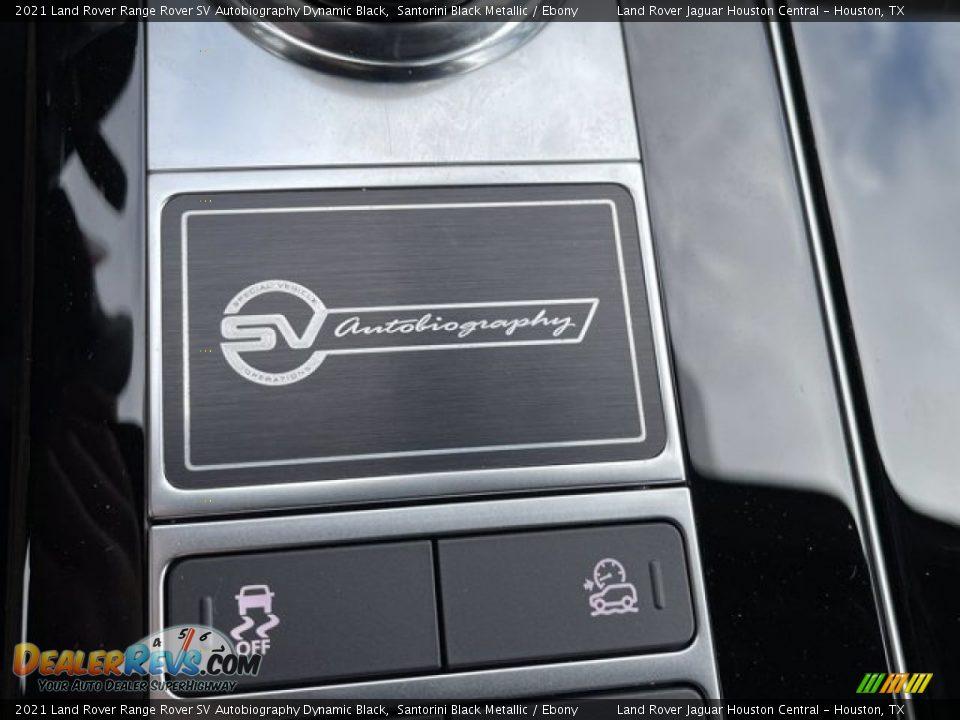 2021 Land Rover Range Rover SV Autobiography Dynamic Black Logo Photo #29
