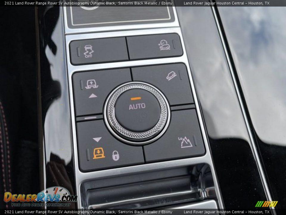 2021 Land Rover Range Rover SV Autobiography Dynamic Black Santorini Black Metallic / Ebony Photo #30