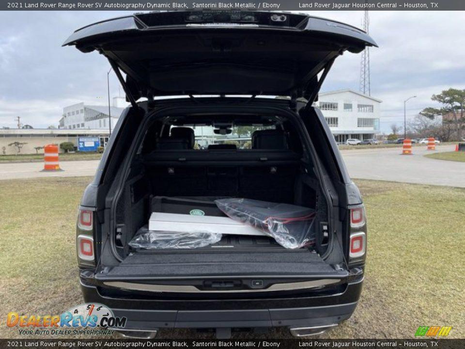 2021 Land Rover Range Rover SV Autobiography Dynamic Black Santorini Black Metallic / Ebony Photo #32