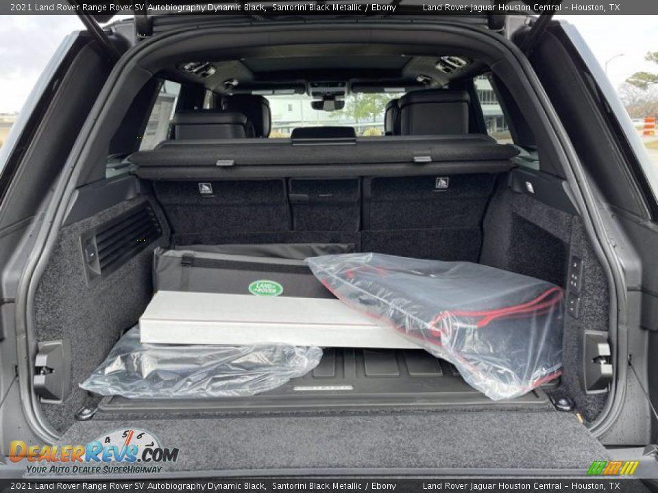 2021 Land Rover Range Rover SV Autobiography Dynamic Black Trunk Photo #33
