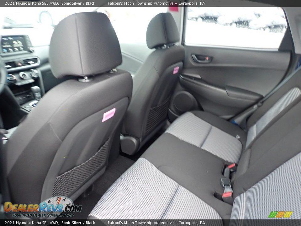 2021 Hyundai Kona SEL AWD Sonic Silver / Black Photo #8