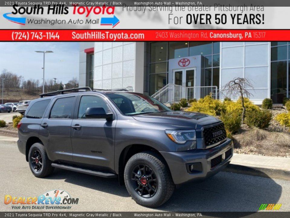 2021 Toyota Sequoia TRD Pro 4x4 Magnetic Gray Metallic / Black Photo #1