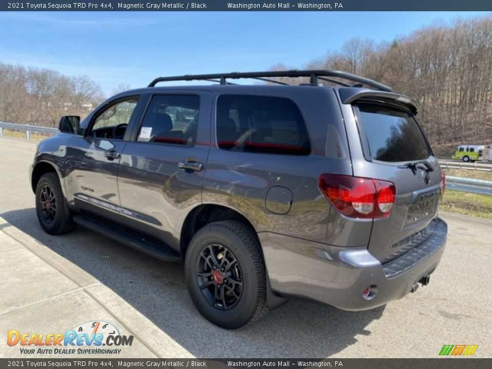 2021 Toyota Sequoia TRD Pro 4x4 Magnetic Gray Metallic / Black Photo #2