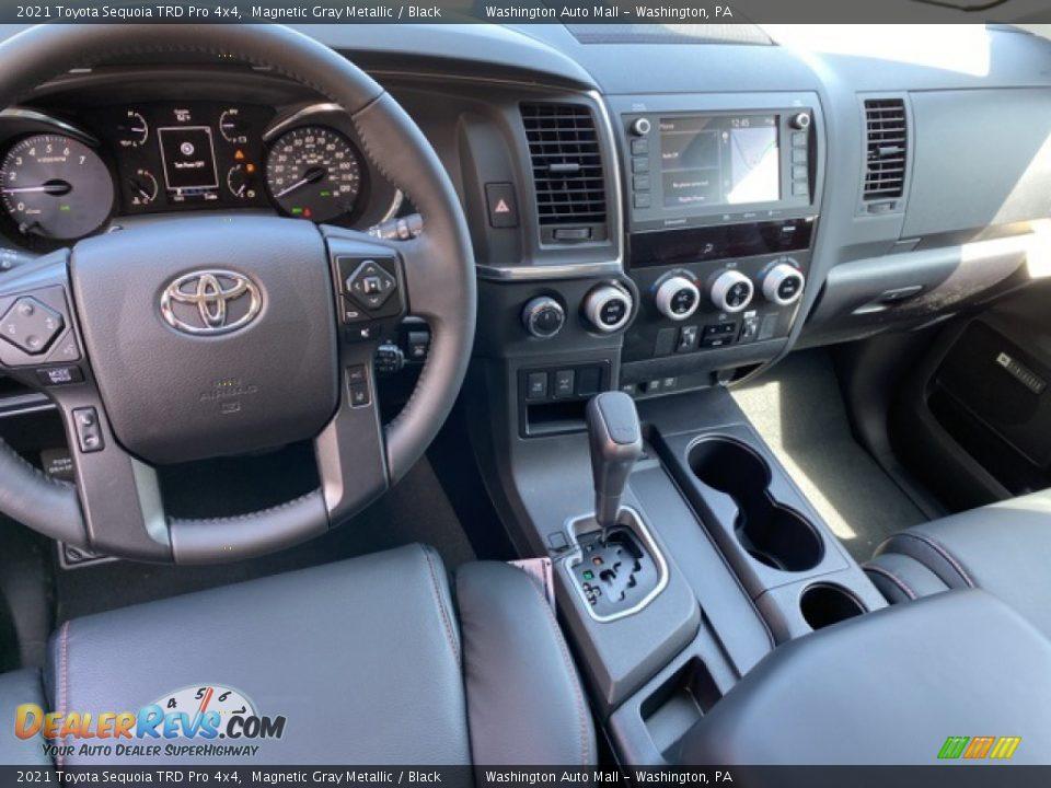 2021 Toyota Sequoia TRD Pro 4x4 Magnetic Gray Metallic / Black Photo #3