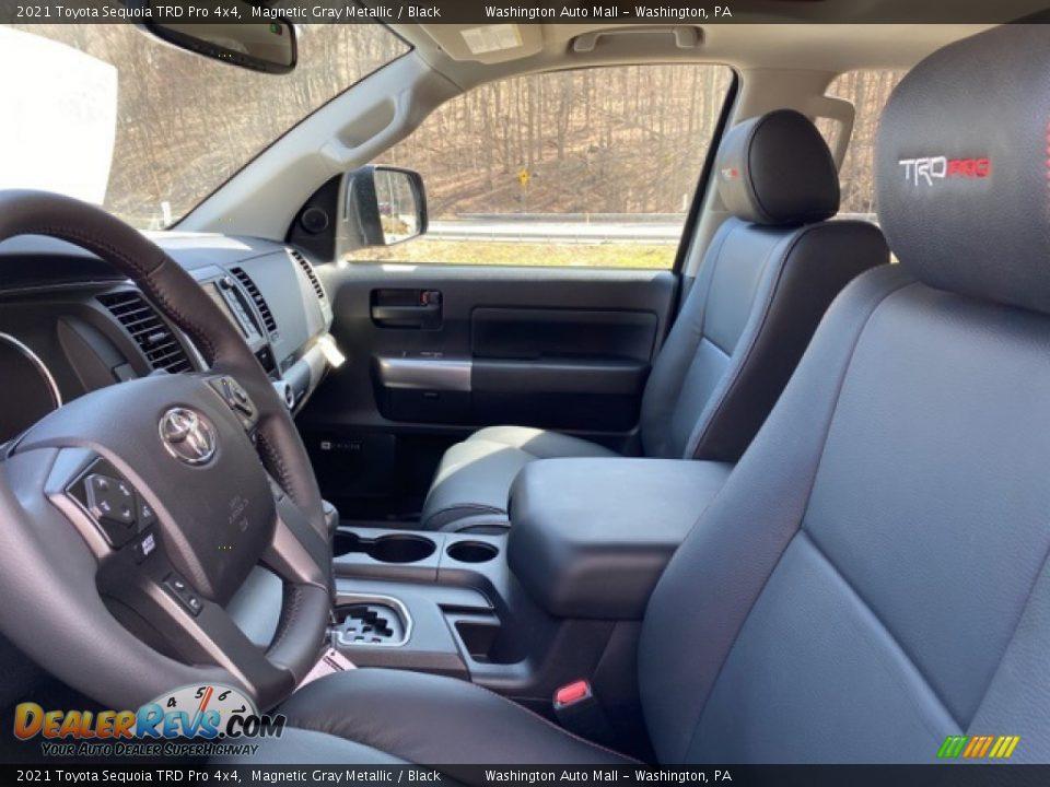 2021 Toyota Sequoia TRD Pro 4x4 Magnetic Gray Metallic / Black Photo #4