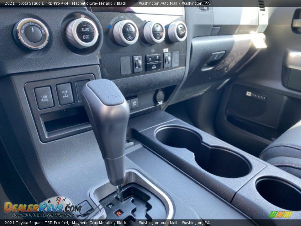 2021 Toyota Sequoia TRD Pro 4x4 Magnetic Gray Metallic / Black Photo #5
