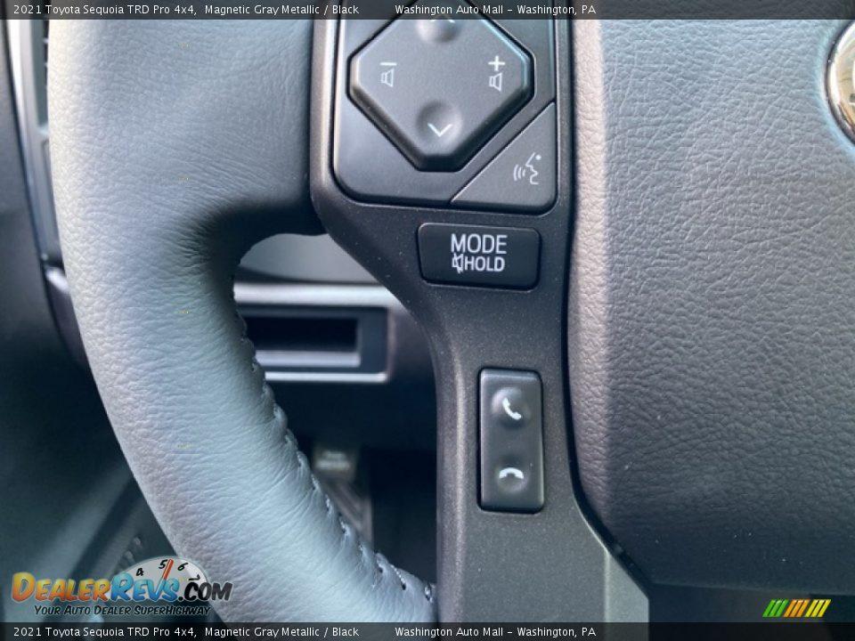 2021 Toyota Sequoia TRD Pro 4x4 Steering Wheel Photo #6