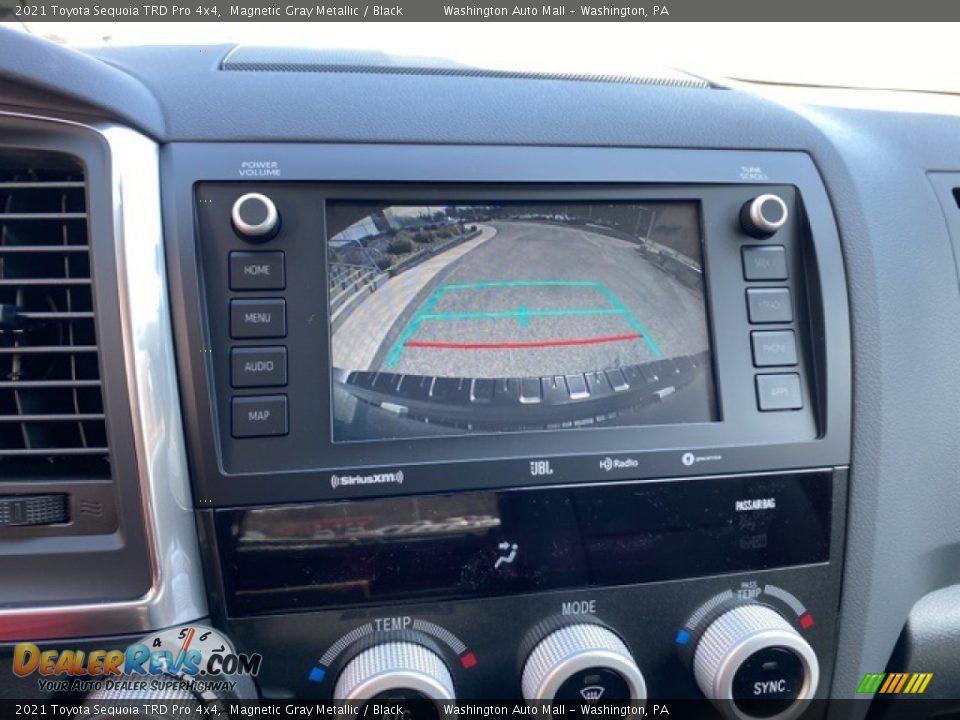 2021 Toyota Sequoia TRD Pro 4x4 Magnetic Gray Metallic / Black Photo #9