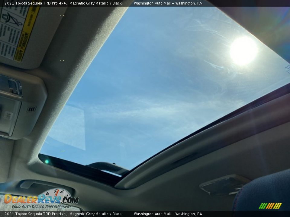 2021 Toyota Sequoia TRD Pro 4x4 Magnetic Gray Metallic / Black Photo #10