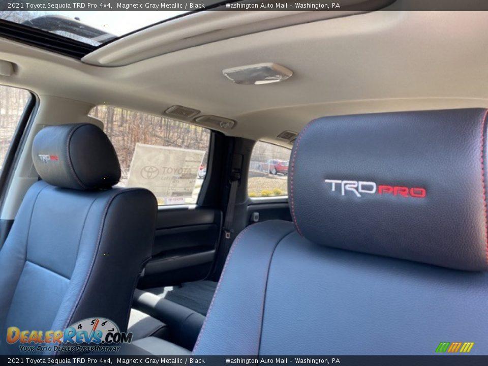 2021 Toyota Sequoia TRD Pro 4x4 Magnetic Gray Metallic / Black Photo #11