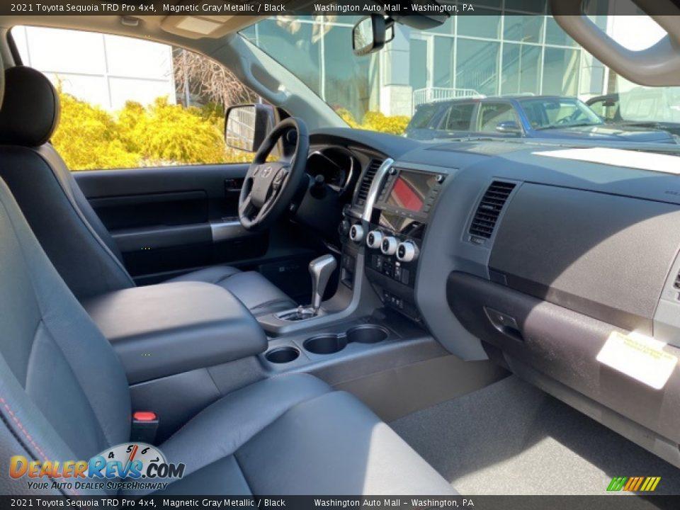 2021 Toyota Sequoia TRD Pro 4x4 Magnetic Gray Metallic / Black Photo #12