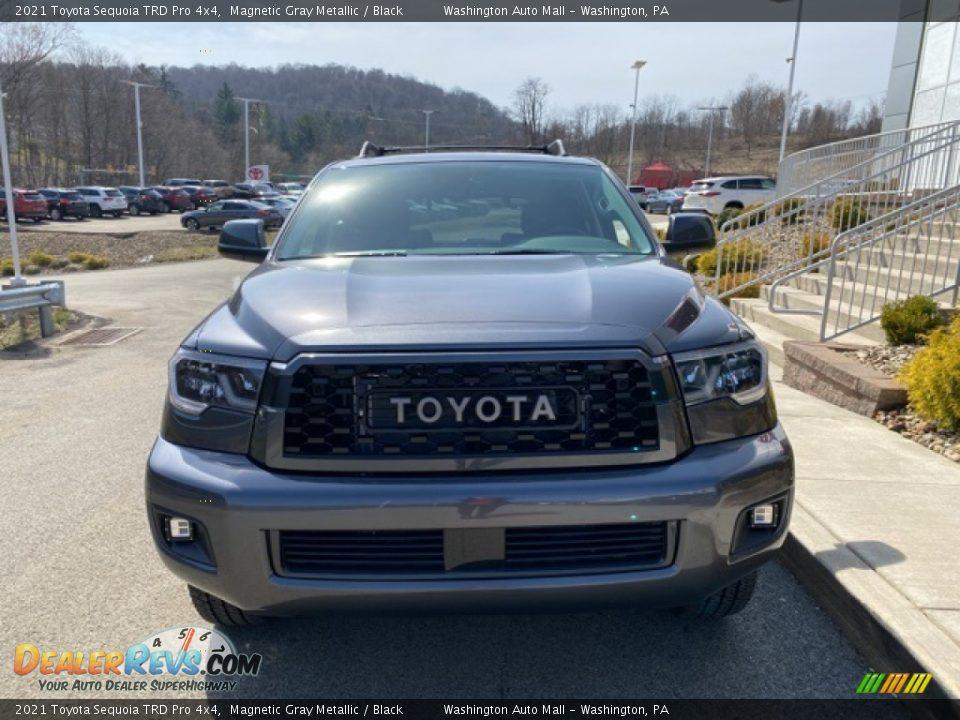 2021 Toyota Sequoia TRD Pro 4x4 Magnetic Gray Metallic / Black Photo #13