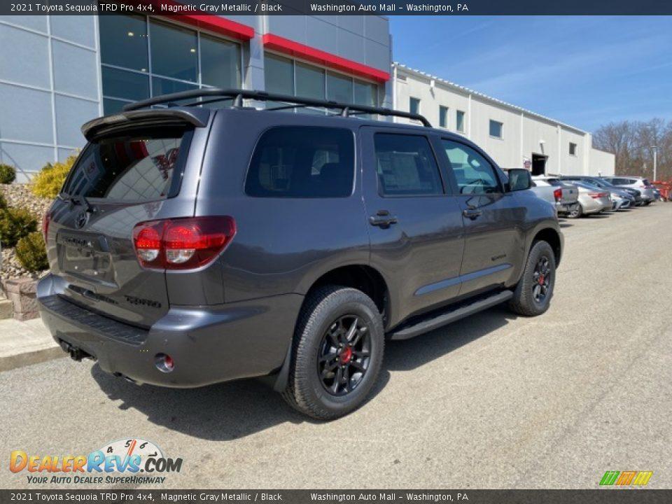 2021 Toyota Sequoia TRD Pro 4x4 Magnetic Gray Metallic / Black Photo #15