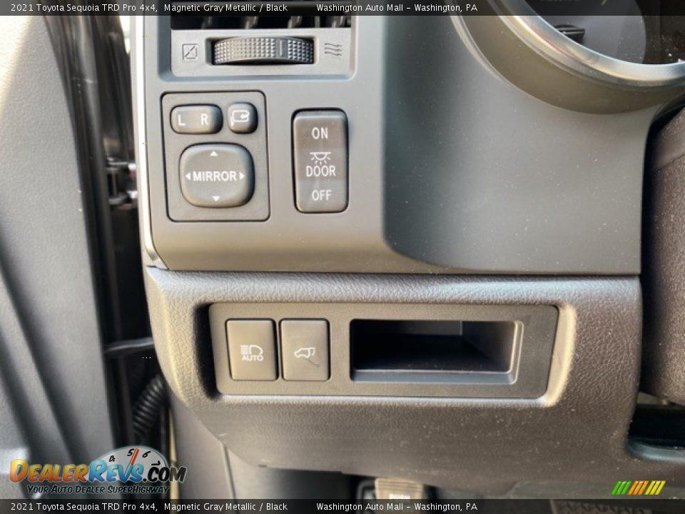 Controls of 2021 Toyota Sequoia TRD Pro 4x4 Photo #21