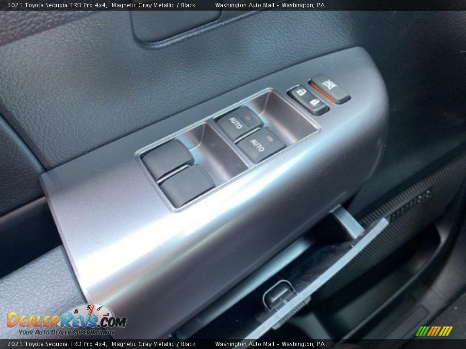 2021 Toyota Sequoia TRD Pro 4x4 Magnetic Gray Metallic / Black Photo #23