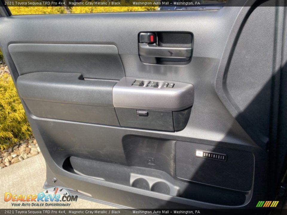 2021 Toyota Sequoia TRD Pro 4x4 Magnetic Gray Metallic / Black Photo #24