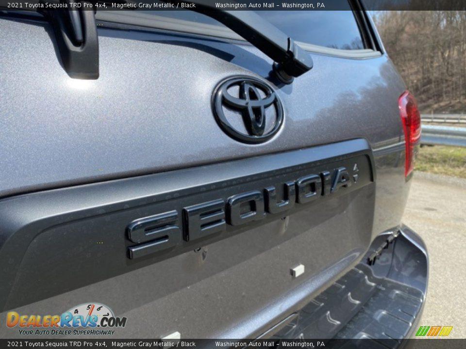 2021 Toyota Sequoia TRD Pro 4x4 Magnetic Gray Metallic / Black Photo #27