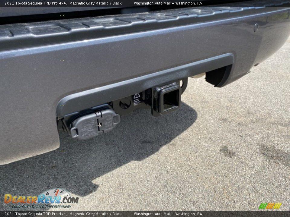 2021 Toyota Sequoia TRD Pro 4x4 Magnetic Gray Metallic / Black Photo #28