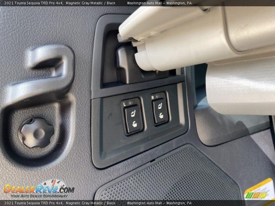 2021 Toyota Sequoia TRD Pro 4x4 Magnetic Gray Metallic / Black Photo #32
