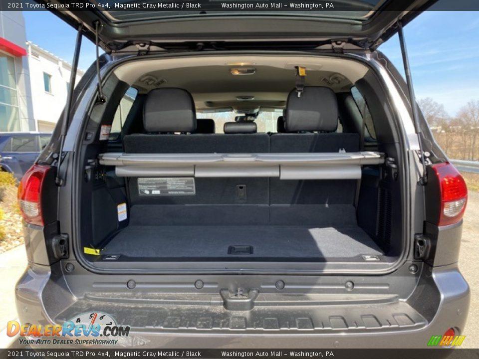 2021 Toyota Sequoia TRD Pro 4x4 Trunk Photo #33