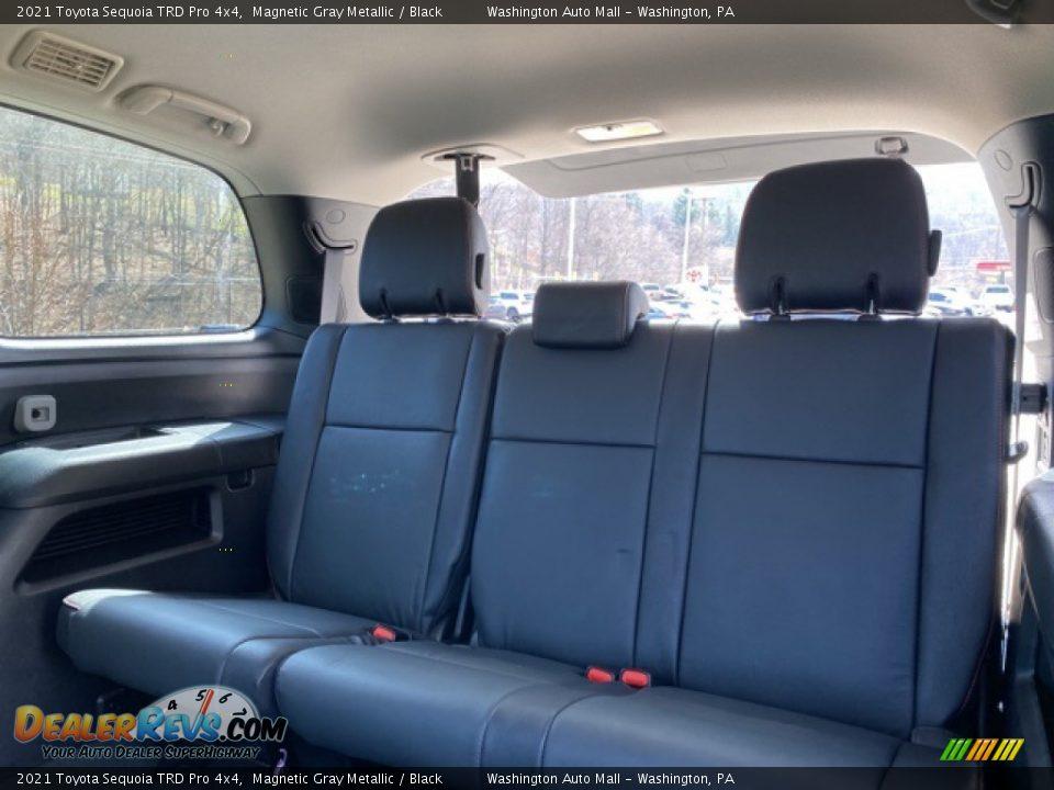 2021 Toyota Sequoia TRD Pro 4x4 Magnetic Gray Metallic / Black Photo #34