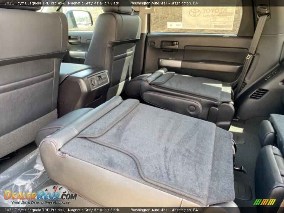 2021 Toyota Sequoia TRD Pro 4x4 Magnetic Gray Metallic / Black Photo #35