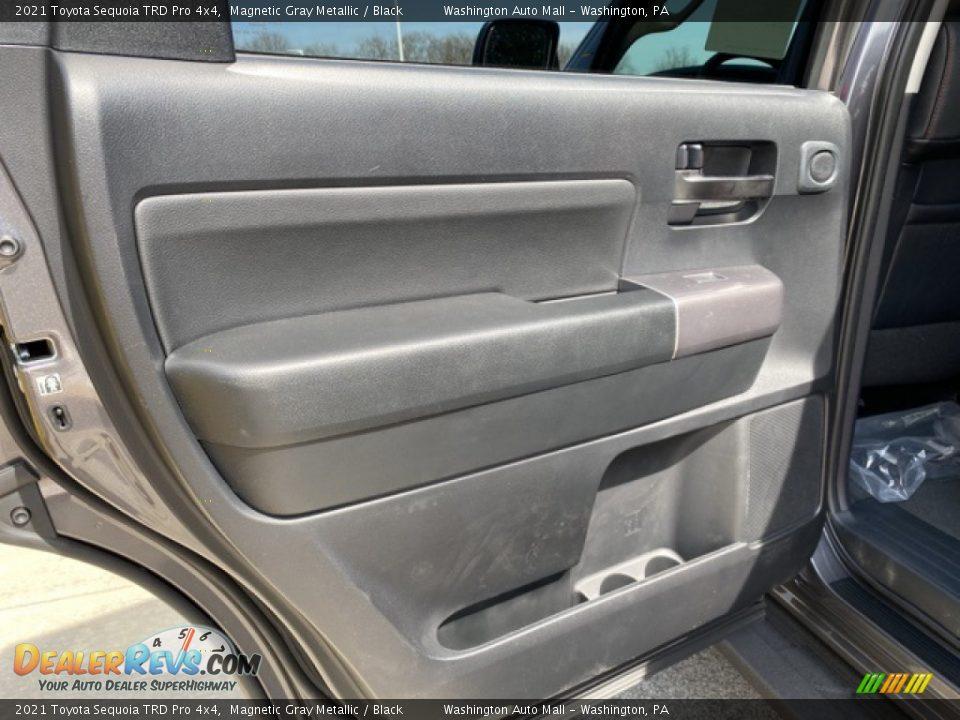 2021 Toyota Sequoia TRD Pro 4x4 Magnetic Gray Metallic / Black Photo #36