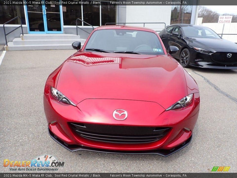 2021 Mazda MX-5 Miata RF Club Soul Red Crystal Metallic / Black Photo #4