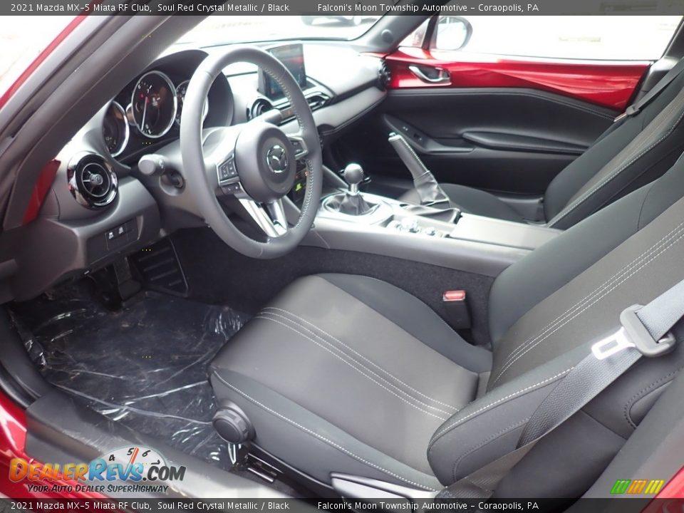 Black Interior - 2021 Mazda MX-5 Miata RF Club Photo #10