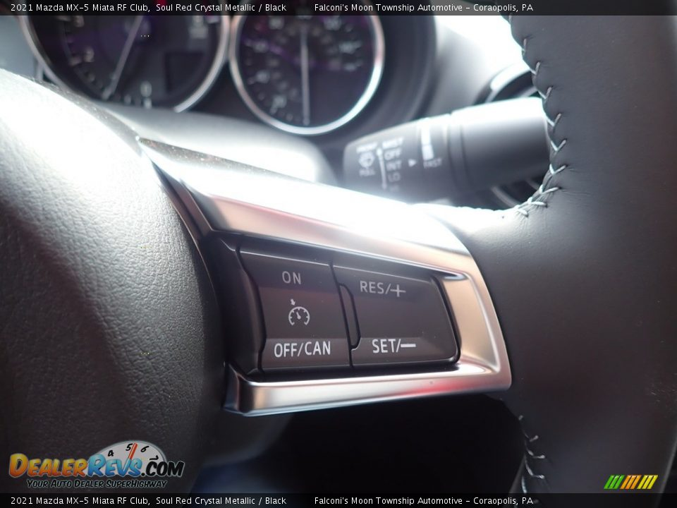 2021 Mazda MX-5 Miata RF Club Steering Wheel Photo #16