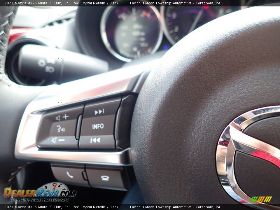 2021 Mazda MX-5 Miata RF Club Steering Wheel Photo #17