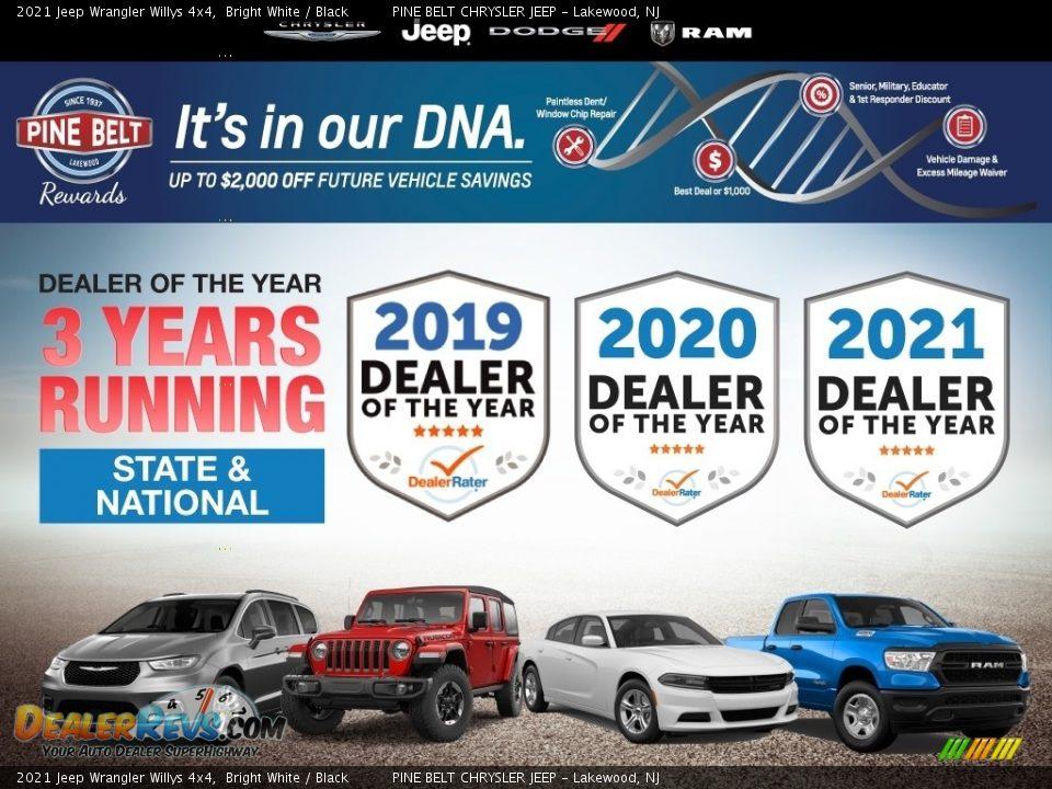 Dealer Info of 2021 Jeep Wrangler Willys 4x4 Photo #5