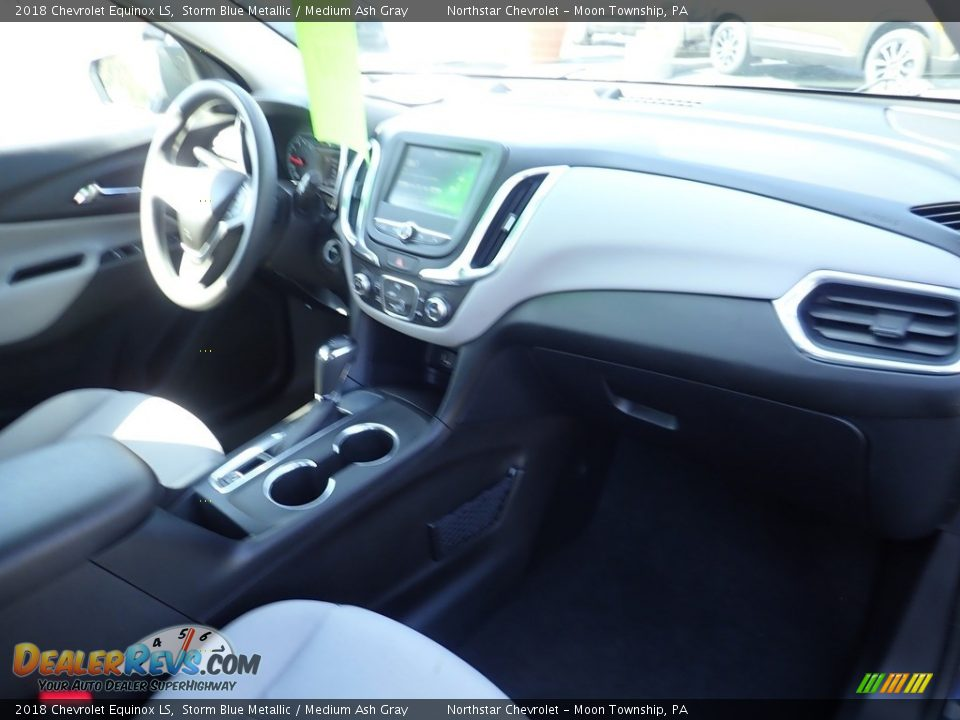 2018 Chevrolet Equinox LS Storm Blue Metallic / Medium Ash Gray Photo #16