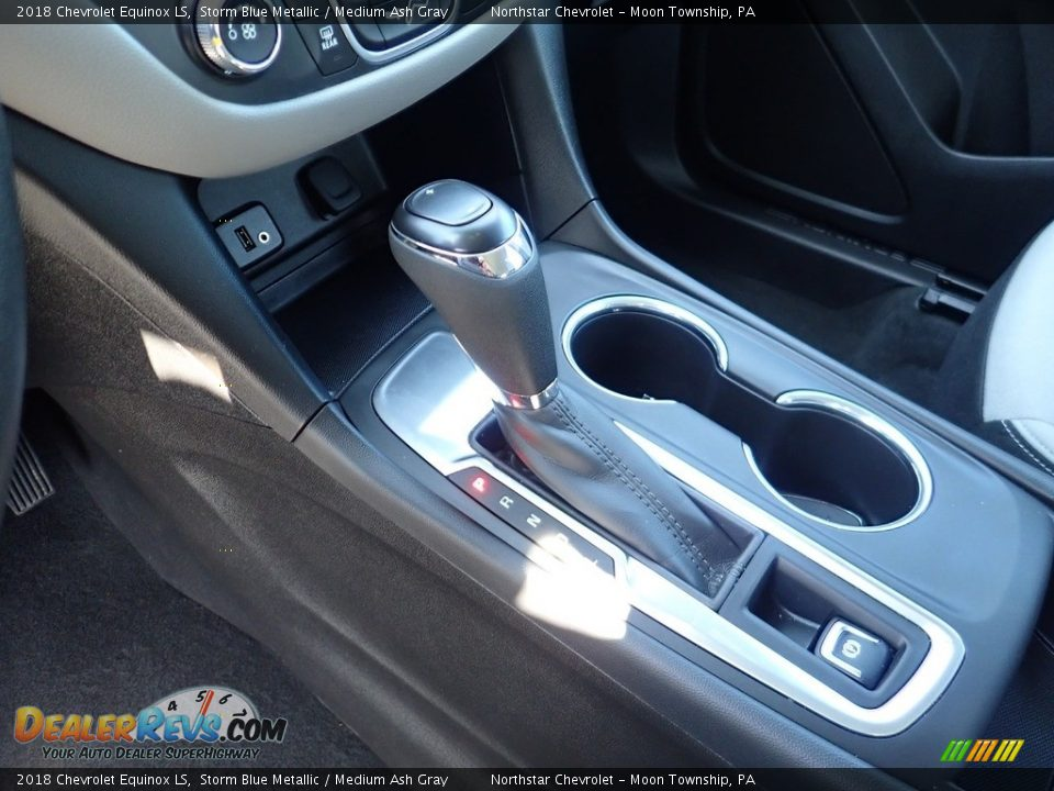2018 Chevrolet Equinox LS Storm Blue Metallic / Medium Ash Gray Photo #25