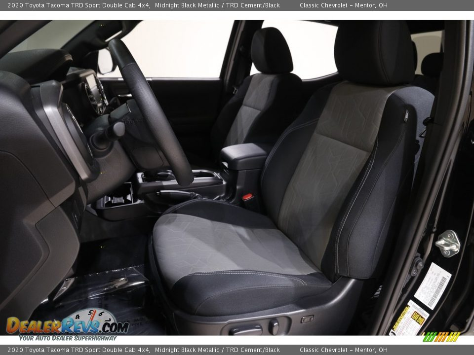 Front Seat of 2020 Toyota Tacoma TRD Sport Double Cab 4x4 Photo #5