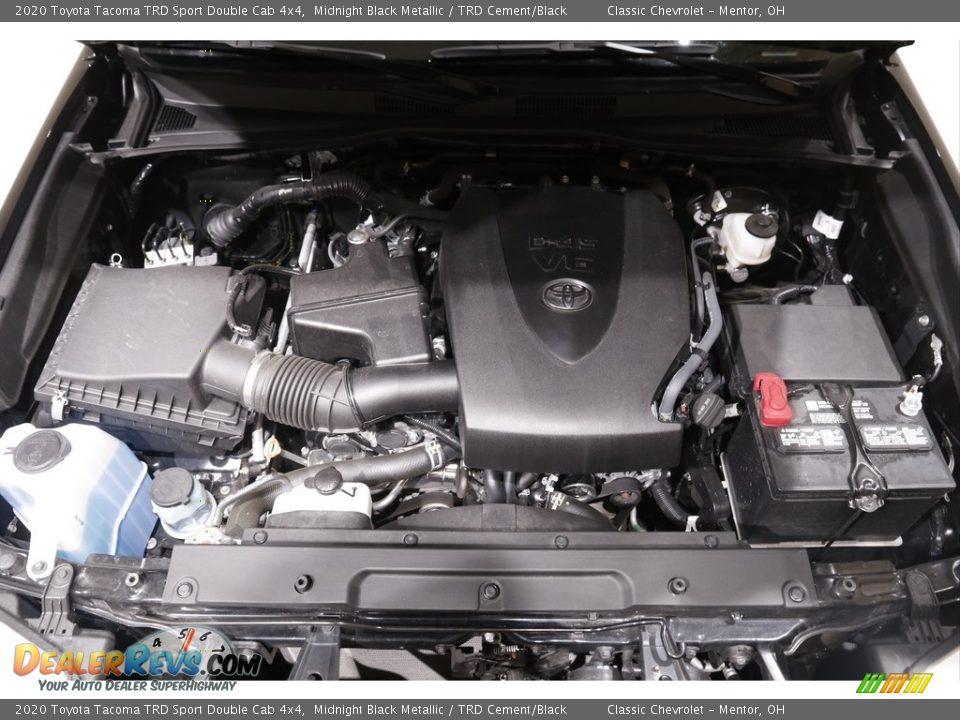 2020 Toyota Tacoma TRD Sport Double Cab 4x4 3.5 Liter DOHC 24-Valve Dual VVT-i V6 Engine Photo #17