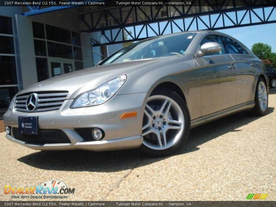 2007 mercedes benz cls 550 pewter metallic cashmere for 2007 mercedes benz cl 550