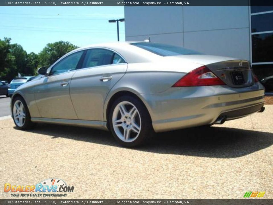 2007 Mercedes Benz Cls 550 Pewter Metallic Cashmere