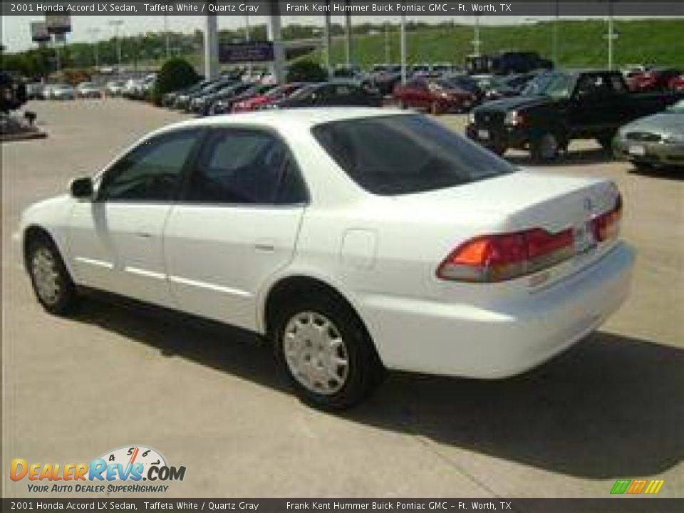 2001 Honda Accord Lx Sedan Taffeta White Quartz Gray