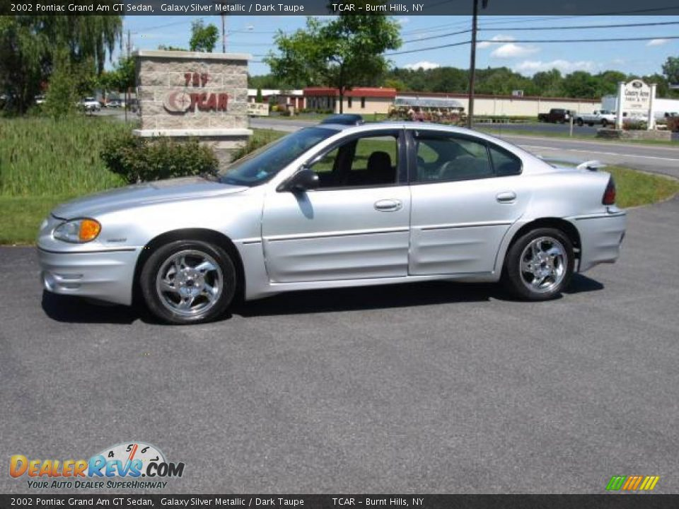 2002 pontiac grand am gt sedan galaxy silver metallic dark taupe photo 1. Black Bedroom Furniture Sets. Home Design Ideas