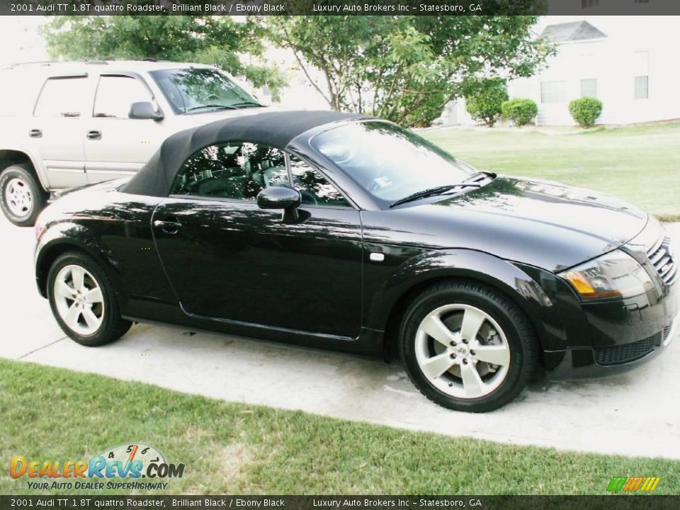 2001 audi tt 1 8t quattro roadster brilliant black ebony. Black Bedroom Furniture Sets. Home Design Ideas
