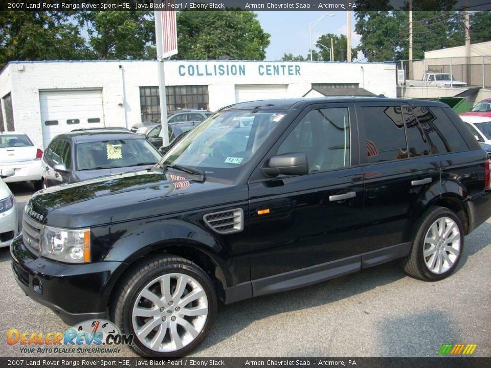 2007 Land Rover Range Rover Sport Hse Java Black Pearl